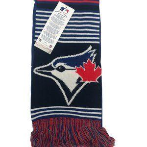MLB Blue Jays Scarf / Winter Scarf / One Size